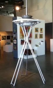 Outdorable! 12' Space Needle for your garden or front yard